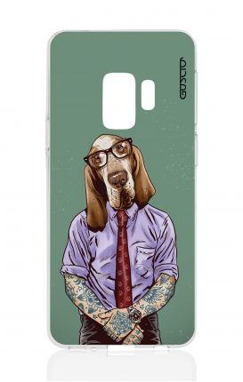 Cover TPU Samsung Galaxy S9 - Bracco italiano tatuato