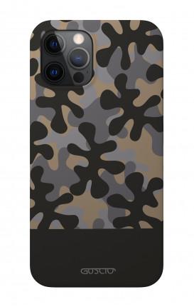 "Soft Touch Case Apple iPhone 12 6.1"" - Black Jack"
