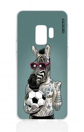 Cover TPU Samsung Galaxy S9 - Zebra