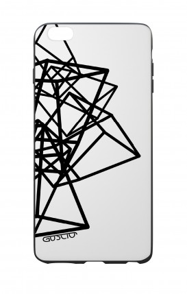 Apple iPhone 6 WHT Two-Component Cover - Geometric shapes