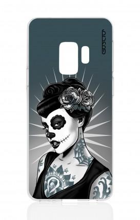 Cover Samsung Galaxy S9 - Calavera Grey Shades