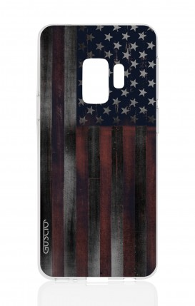 Cover Samsung Galaxy S9 - Dark USA Flag