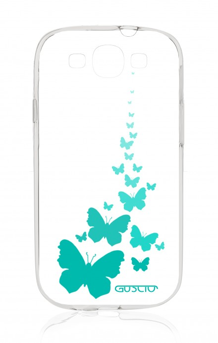 Cover Samsung Galaxy S3 GT i9300 - Flying Butterflies