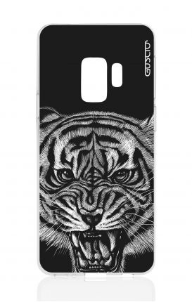 Cover TPU Samsung Galaxy S9 - Tigre nera