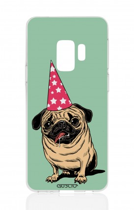 Cover Samsung Galaxy S9 - Party with Pug