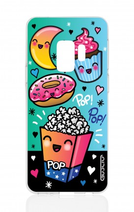 Cover Samsung Galaxy S9 - Kawaii popcorn