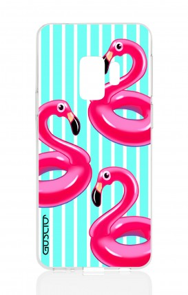 Cover Samsung Galaxy S9 - Fenicotteri gonfiabili