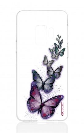 Cover TPU Samsung Galaxy S9 - Volo di farfalle