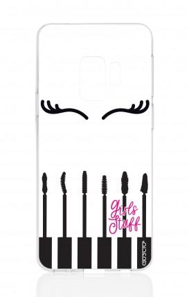 Cover Samsung Galaxy S9 - Mascara Roba da ragazze