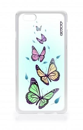 Cover Asus Zenfone4 Max ZC520KL - Butterflies & Leaves