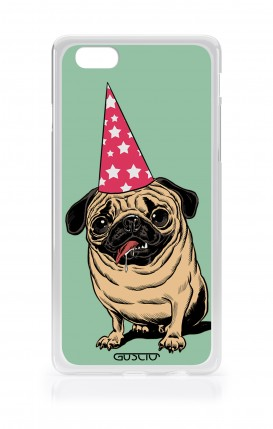 Cover Asus Zenfone4 Max ZC520KL - Party with Pug