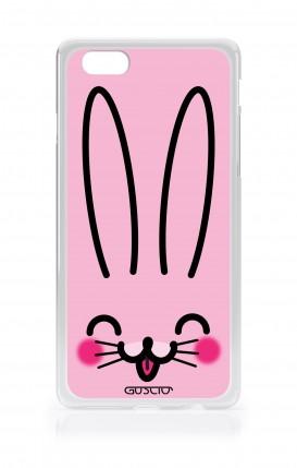 Cover TPU TRS Asus Zenfone4 Max ZC520KL - Coniglietto rosa