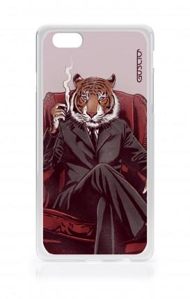 Cover TPU TRS Asus Zenfone4 Max ZC520KL - Tigre elegante