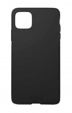 Case Skin Feeling Apple iphone 11 BLACK - Logo