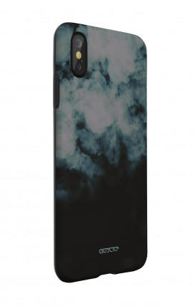Apple iPhone 11 Two-Component Cover - Black Abstract