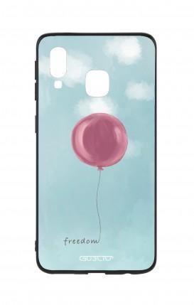 Cover Bicomponente Samsung A40 - palloncino della libertà