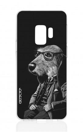 Cover TPU Samsung Galaxy S9 Plus - Cane elegante