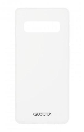 Cover Crystal Samsung S10 - Logo
