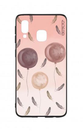 Cover Bicomponente Samsung A40 - 3 Palloncini rosa