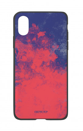 Cover Bicomponente Apple iPhone X/XS  - Mineral RedBlue