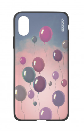 Apple iPhone X White Two-Component Cover - Balloons