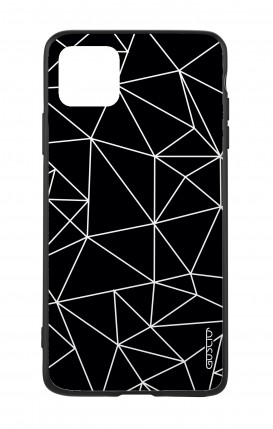 Apple iPh11 PRO MAX WHT Two-Component Cover - Geometric Abstract