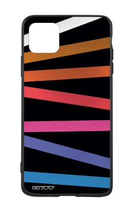 Apple iPh11 PRO MAX WHT Two-Component Cover - Bands Abstract