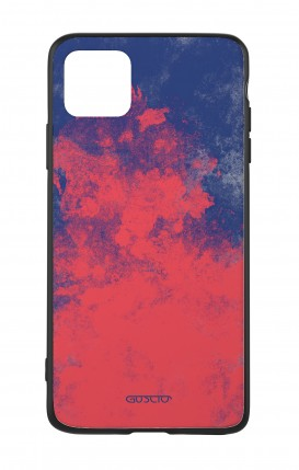 Apple iPh11 PRO MAX WHT Two-Component Cover - Mineral Red Blue