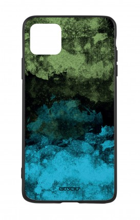 Apple iPh11 PRO MAX WHT Two-Component Cover - Mineral Black Lime
