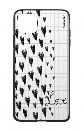 Apple iPh11 PRO MAX WHT Two-Component Cover - Love on notebook
