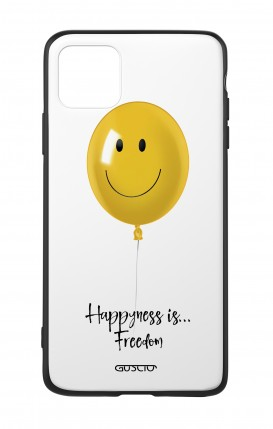Apple iPh11 PRO MAX WHT Two-Component Cover - Happiness Balloon