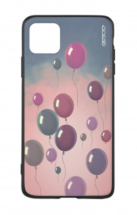 Apple iPh11 PRO MAX WHT Two-Component Cover - Balloons