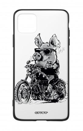 Cover Bicomponente Apple iPhone 11 PRO MAX - Maiale biker