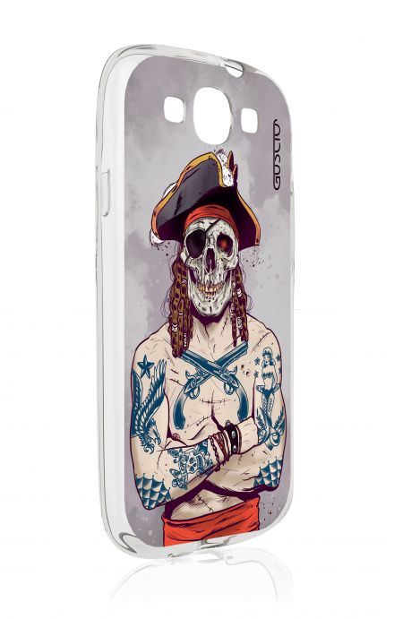 Cover Samsung Galaxy S3 GT i9300 - Skull Pirate