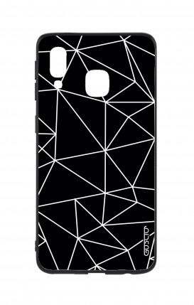Cover Bicomponente Samsung A40 - Astratto geometrico