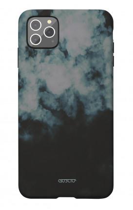 Soft Touch Case Apple iPhone 11 PRO MAX - Black Cloud