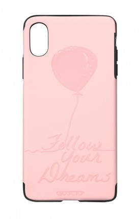 Cover Skin Feeling Apple iphone X/XS PNK - Follow your dream