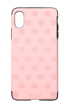 Cover Skin Feeling Apple iphone X/XS PNK - Pois