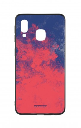 Samsung A40 WHT Two-Component Cover - Mineral Red Blue