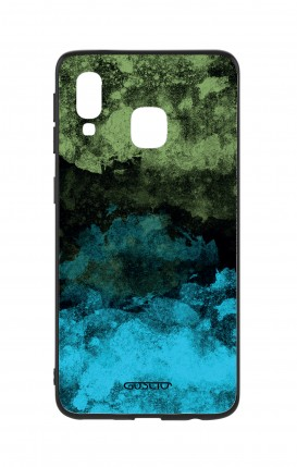 Cover Bicomponente Samsung A40 - Mineral BlackLime