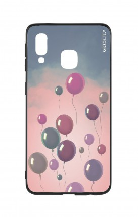Samsung A40 WHT Two-Component Cover - Balloons