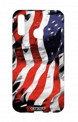 Cover Huawei P20Lite - Bandiera americana