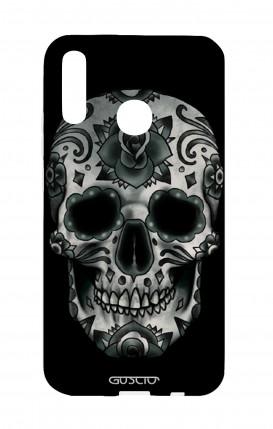Cover Huawei P20Lite - Dark Calavera Skull