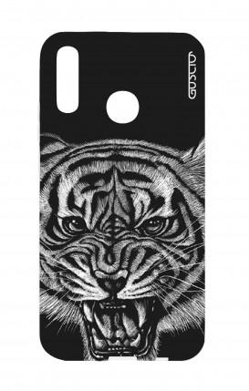 Cover Huawei P20Lite - Black Tiger