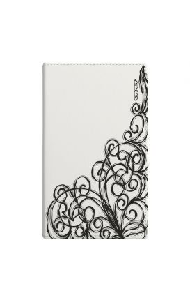 """Cover Universal Casebook MEDIUM/LARGE for 5.0""""-5.2"""" display - Pizzo bianco"""
