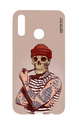 Cover Huawei P20Lite - Skull Sailor with Red Cup
