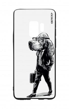 Cover Bicomponente Samsung S9 - Business Dog