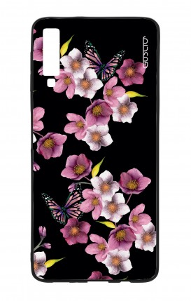 Samsung A7 2018 WHT Two-Component Cover - Cherry Blossom
