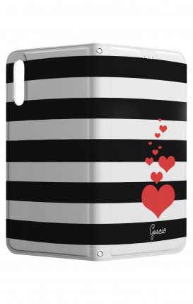 Cover STAND HUAWEI P20 - Loving Stripes