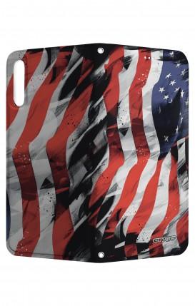 Cover STAND HUAWEI P20 - Bandiera americana